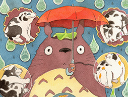 Totoro / Raining Cats and Dogs